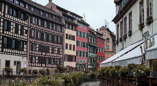 Strasbourg #1 La petite France et... le croupion qui fume