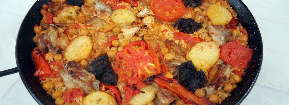 Recette valencienne : Harroz al horno, le riz au four