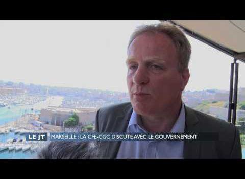 Francois Hommeril etait a Marseille
