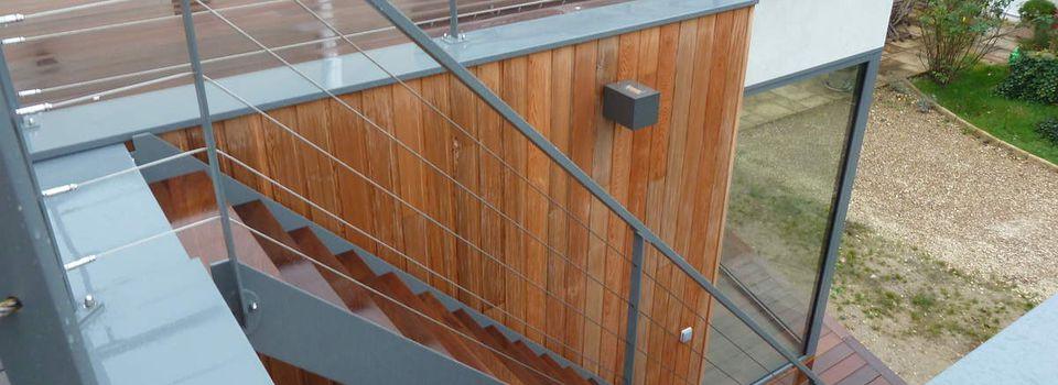 Terrasse en bois et bardage loire atlantique 44