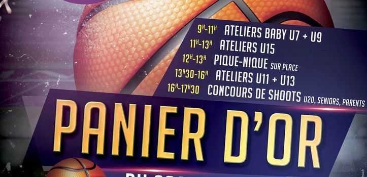 COC BASKET / Le Panier d'OR