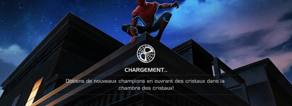 Maintenance d'urgence !! Marvel contest of champions