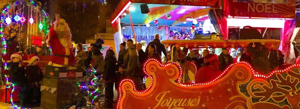 Parade de Noël 2015 à Châteauroux