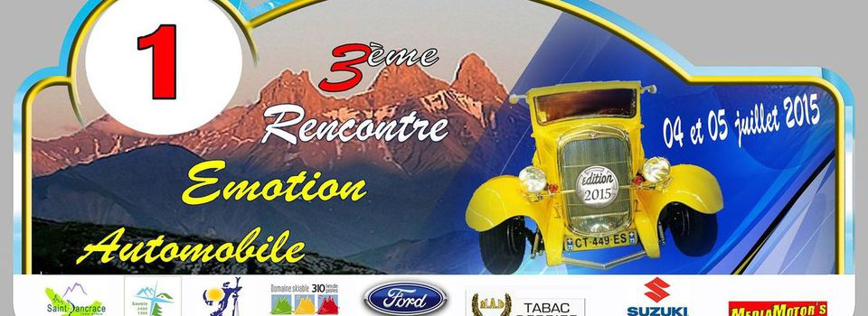 Rencontre emotion automobile 2016