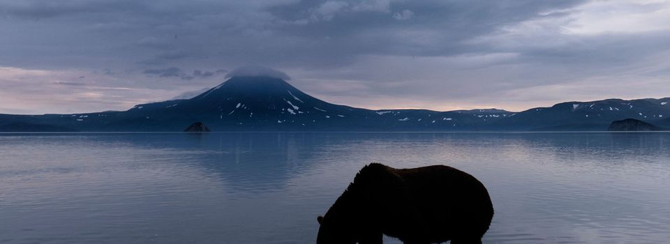 Lac Kuril, Kamchatka, Russie