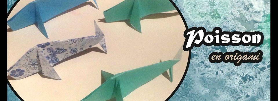 Origami : Le poisson さかな