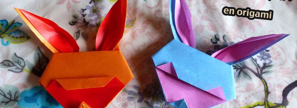 Lapin version origami #2
