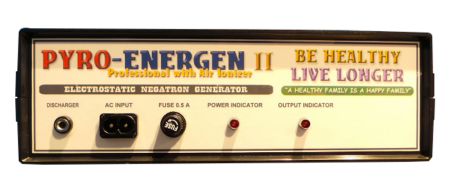 PYROENERGEN II Am Fantastic Electrstatic Therapy Machine! Eliminate Diseases!