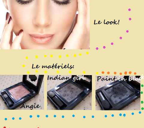 "Make-up avec la palette ""Sigma"""