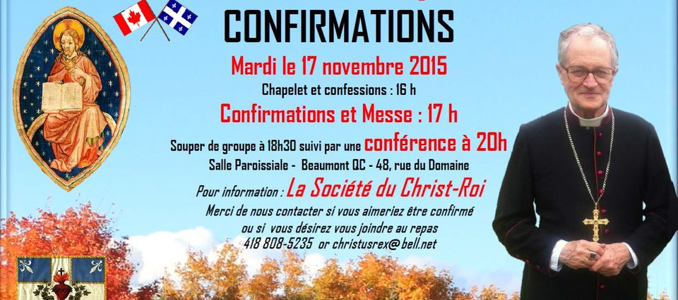 Confirmations
