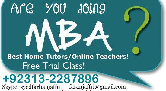 Mba accounting homework help
