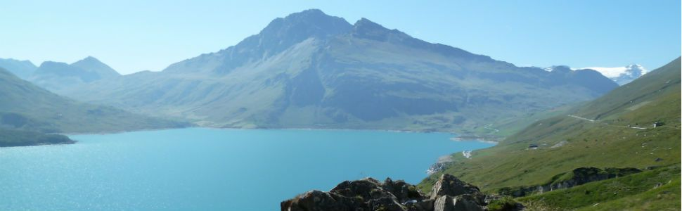 Le lac du Mont-Cenis dans le parc de la Vanoise