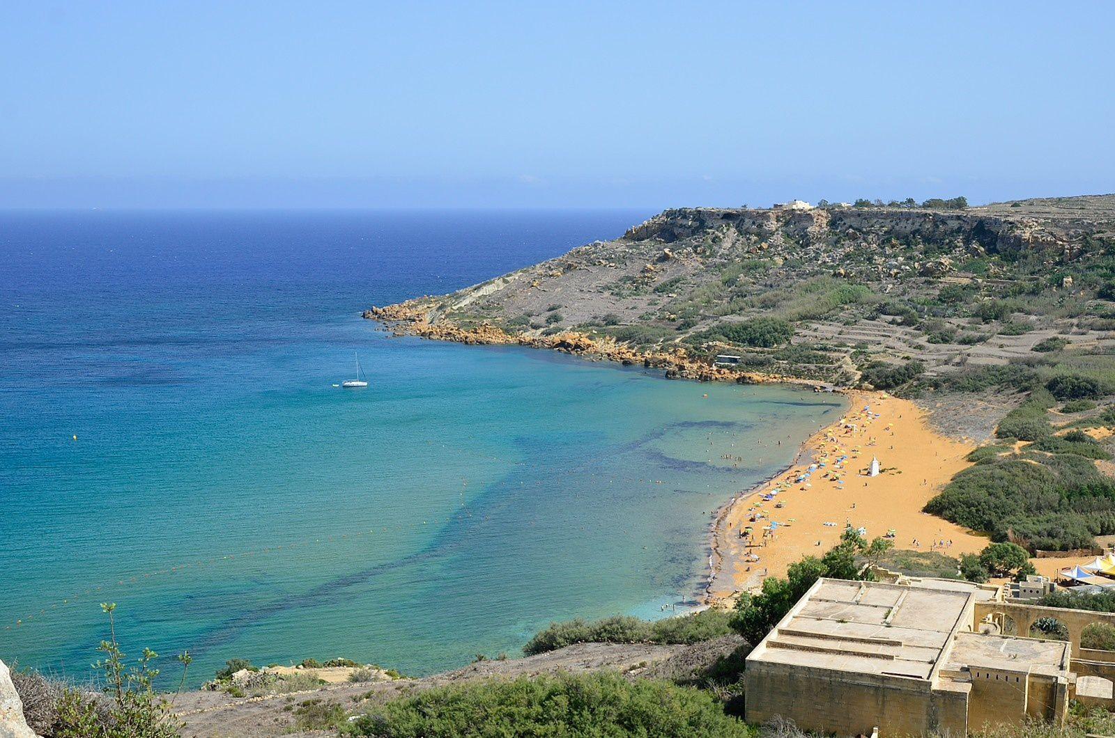 La plage de Ir-Ramla