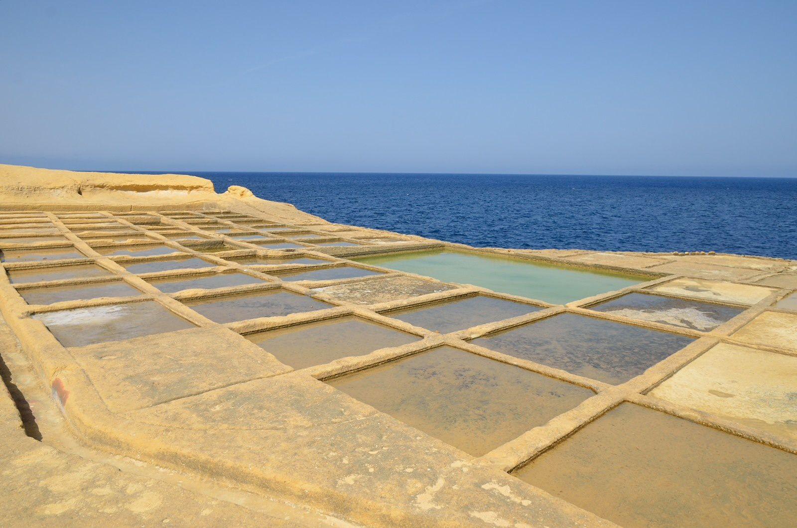 Les marais salants de la Baie de Xwejni