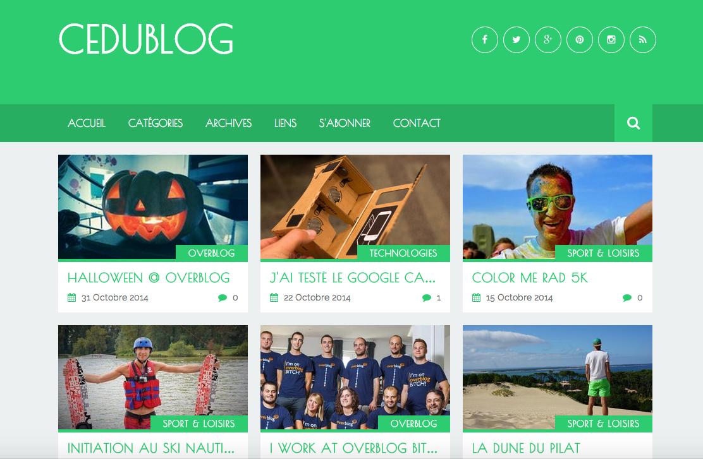 Un nouveau thème débarque sur Overblog !
