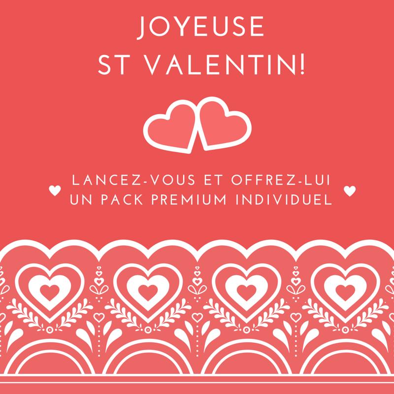 Joyeuse St Valentin !