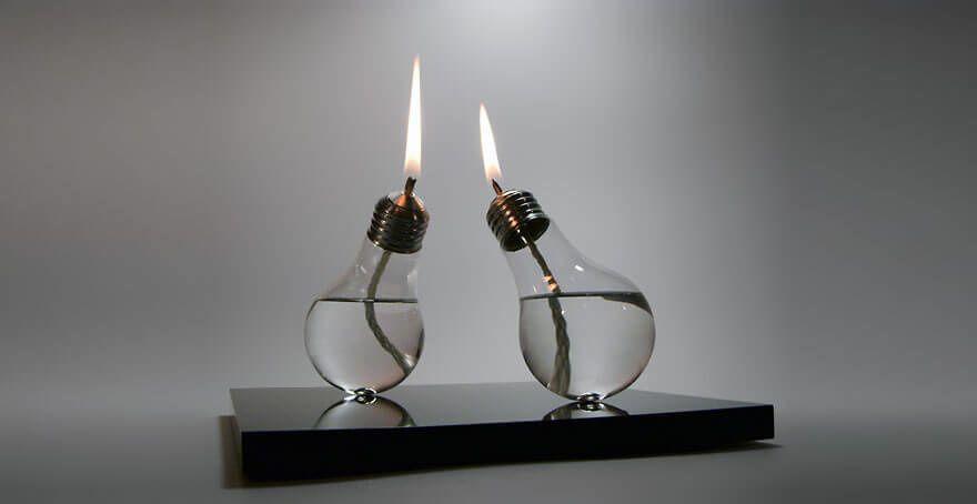 Les petites lampes à huile