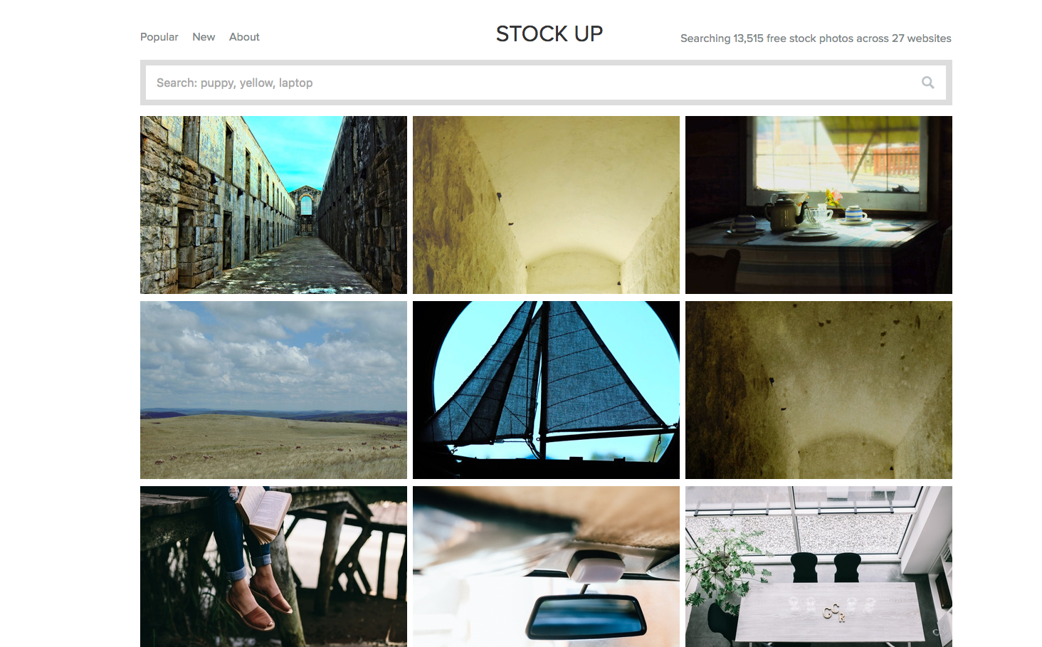 Banque d'image : Stock-up