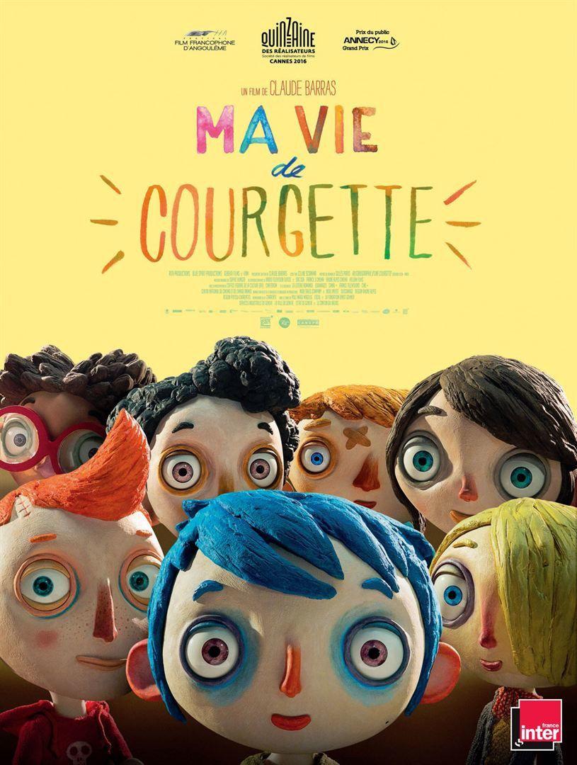 Ma vie de Courgette - Claude Barras