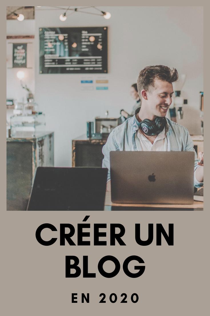 Créer un blog en 2020, epingle Pinterest