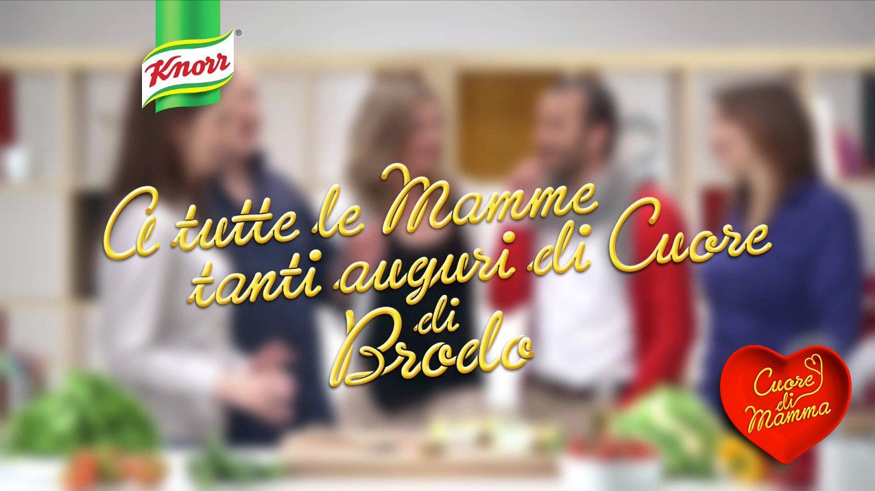 Knorr colpisce al cuore delle mamme