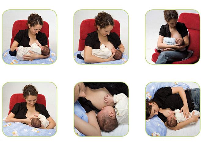 Posizioni per allattare