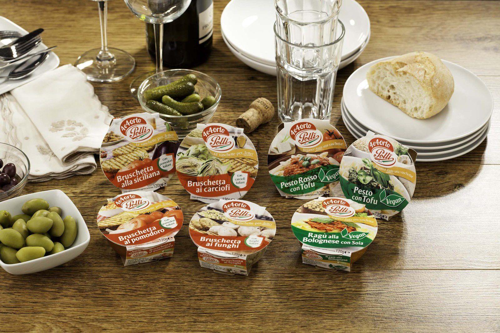Salse, sughi e bruschette Polli tradizione in tavola a Natale