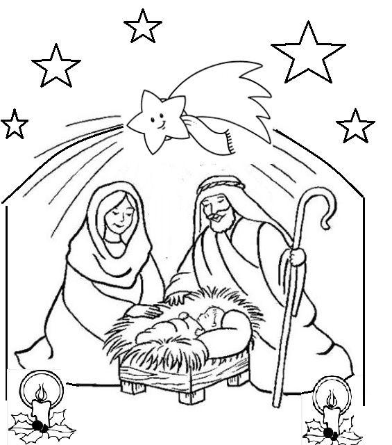 Presepe Di Natale Da Colorare Oggi Mamma News