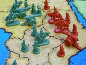 Soldados napoleonicos en la versión clasica de este juego de mesa