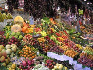 Mercado de la Boqueria, Barcelona. Imagen de la wikipedia.