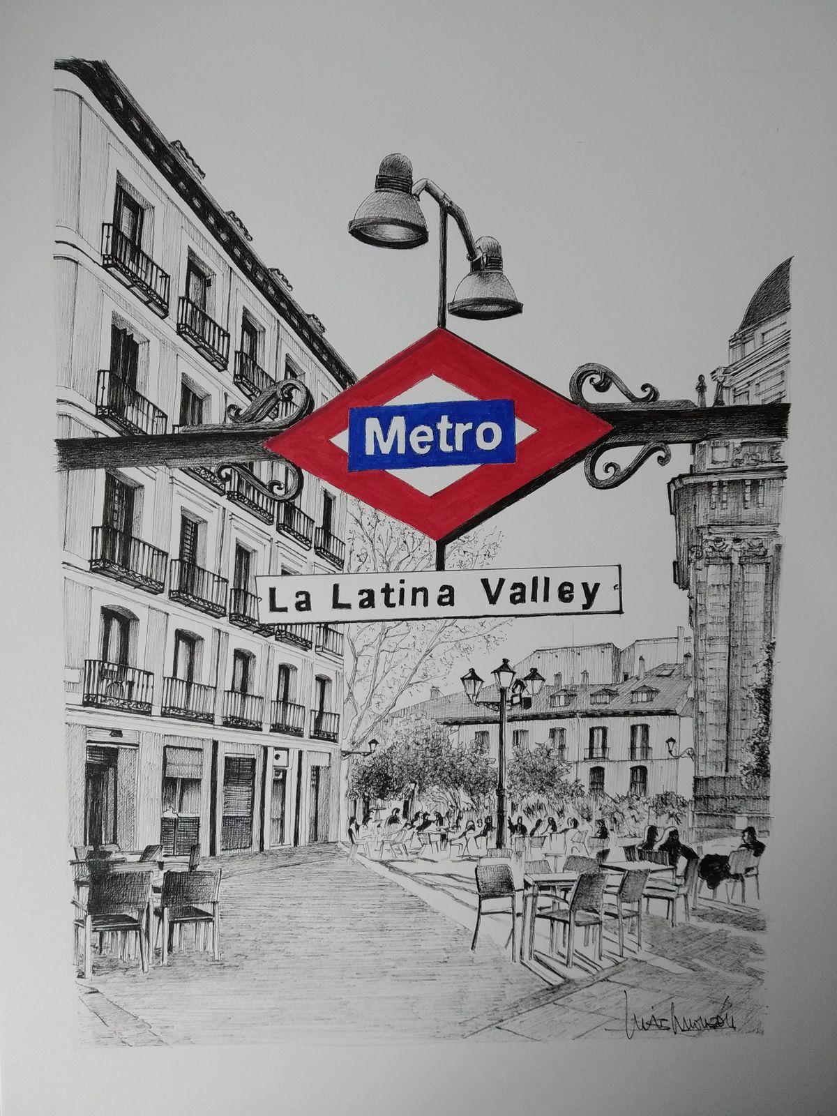 Ilustración de La Latina Valley