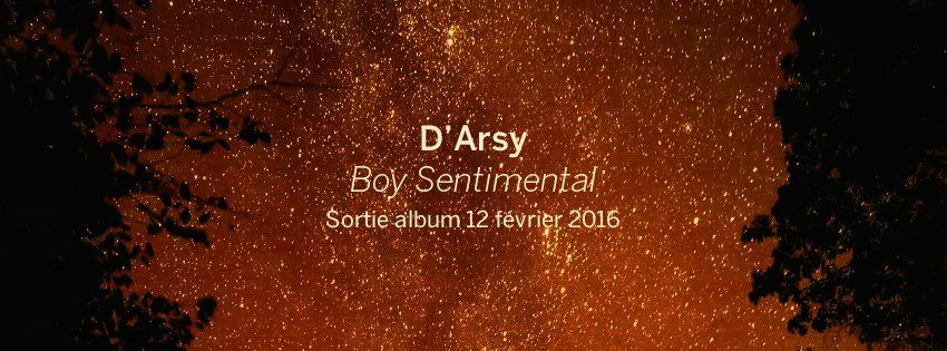 Interview: D'Arsy