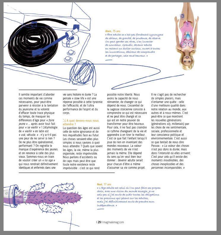 """""""Nous avons la capacité de changer ce qui dépend de nous!"""" Magazine Magma 09.18"""