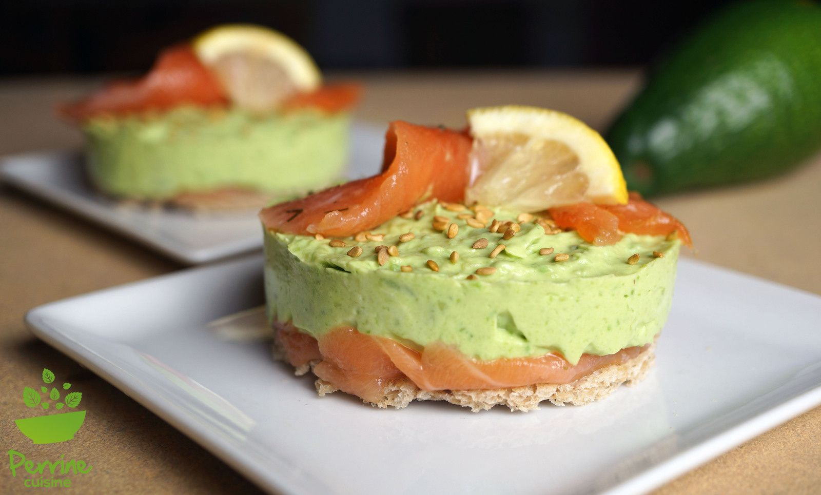 Toast cheesecake avocat saumon