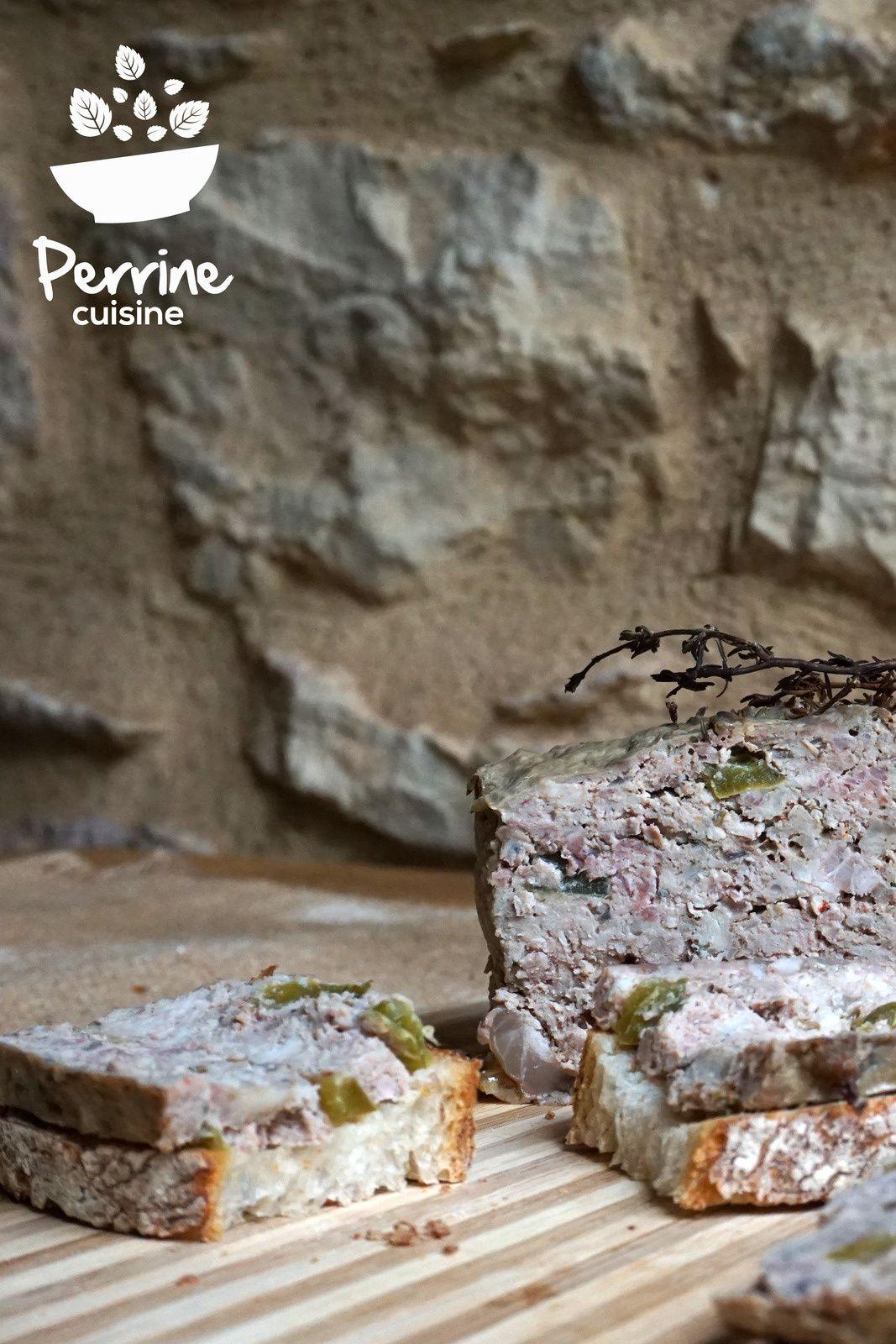 Terrine de campagne Perrine cuisine