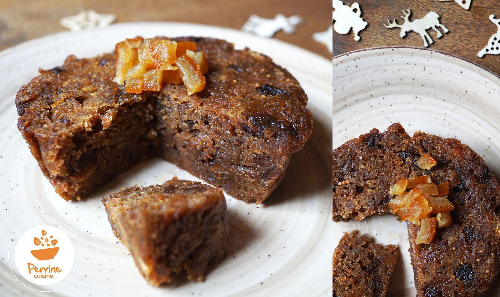 Perrine cuisine Chrismas Pudding