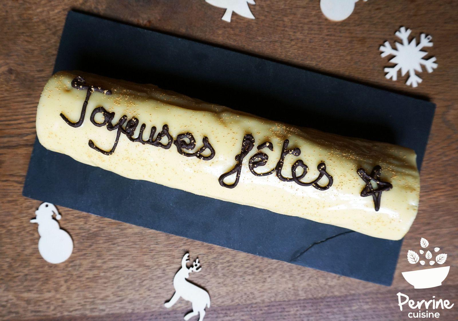 Gateau Roule A La Genoise Japonaise Et Au Citron Glacage Chocolat