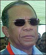 L'Amiral Didier Ignace Ratsiraka.