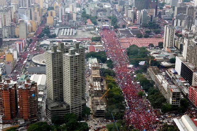 Le Venezuela a décidé! La révolution bolivarienne continue!