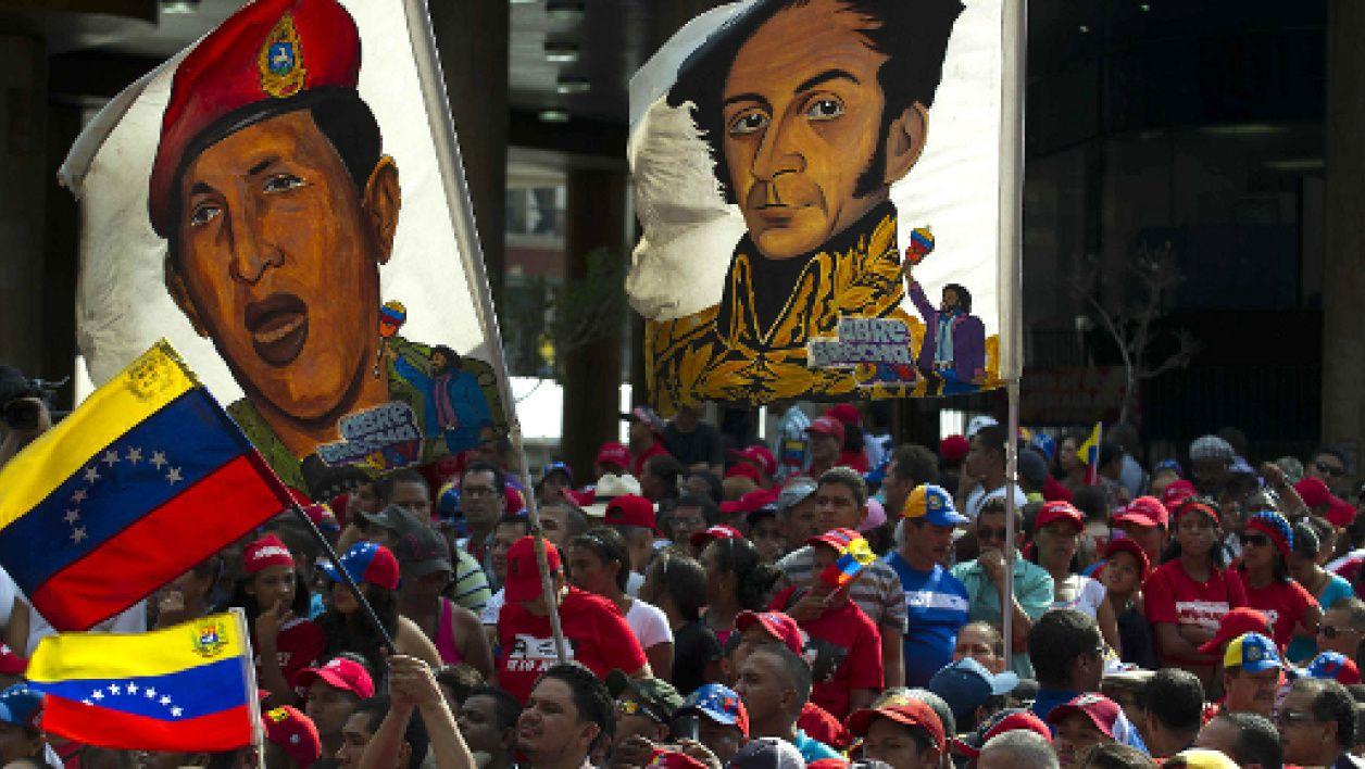Manifestation en faveur du président élu Nicolas Maduro -  Photo BFM TV