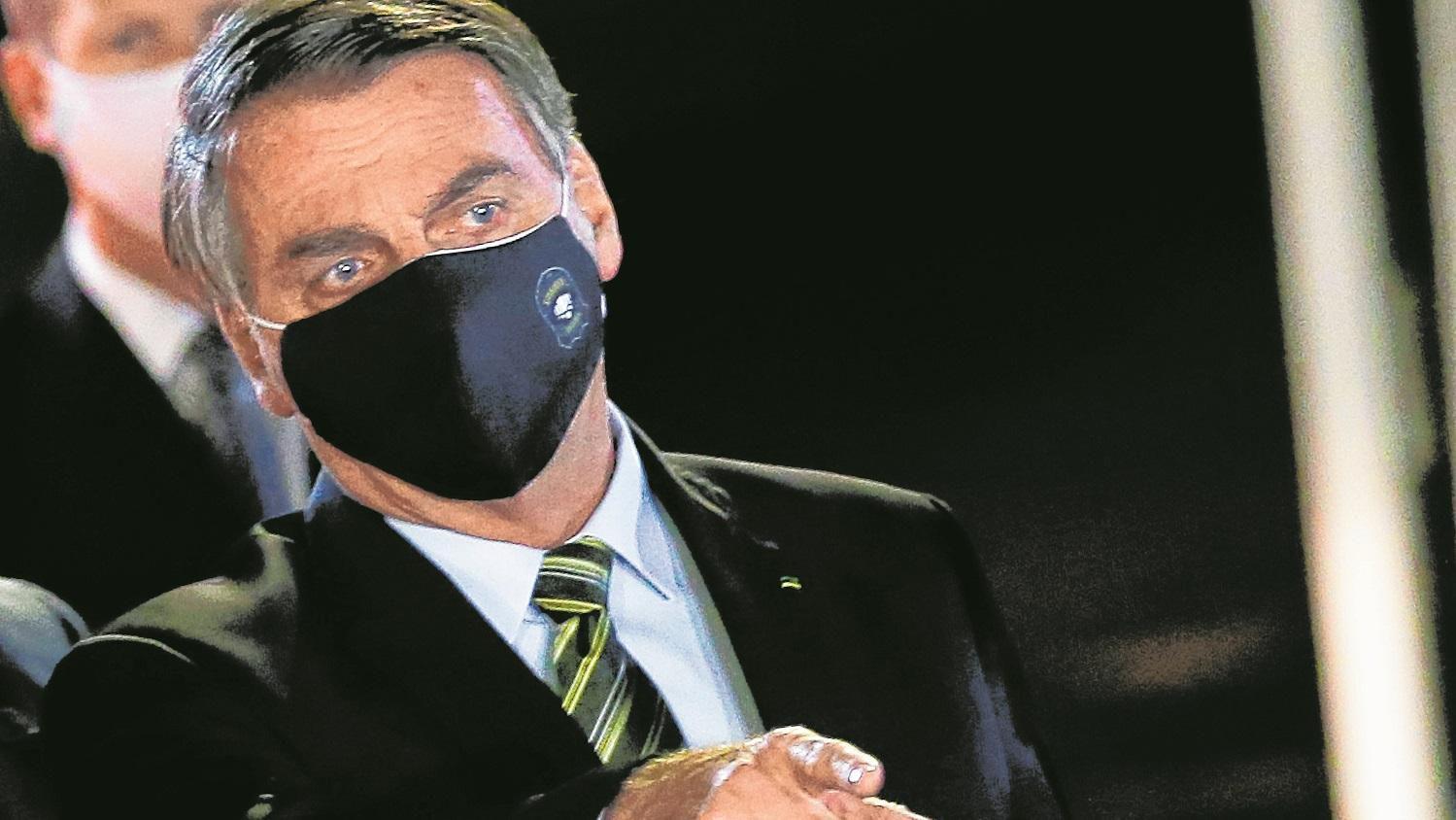 Illustration : Bolsonaro propose une augmentation du montant de l'aide d'urgence si les parlementaires acceptent une réduction de leurs propres salaires. Photo: PR