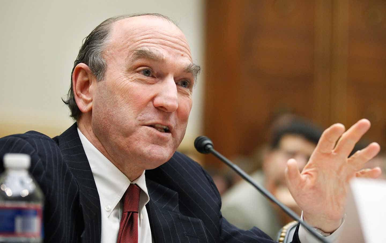 Illustration : Elliott Abrams témoigne sur Capitol Hill à Washington le 9 février 2011. (Manuel Balce Ceneta / AP Photo)