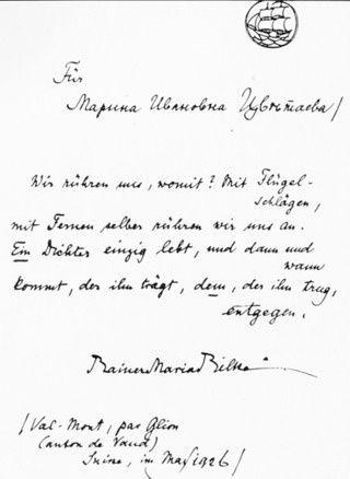 Anastassia, Marina et Serguei Efron à Moscou, en 1913, MT, Lettre de Rilke à Marina, Dernière résidence de Marina à Paris
