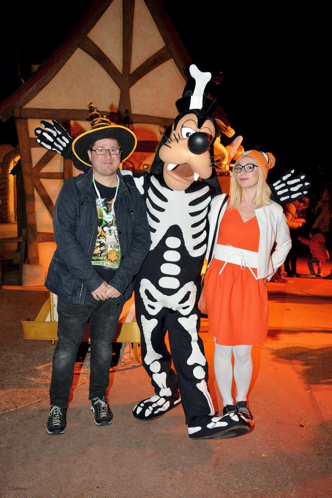 La soirée Halloween de Disneyland Paris (2016)