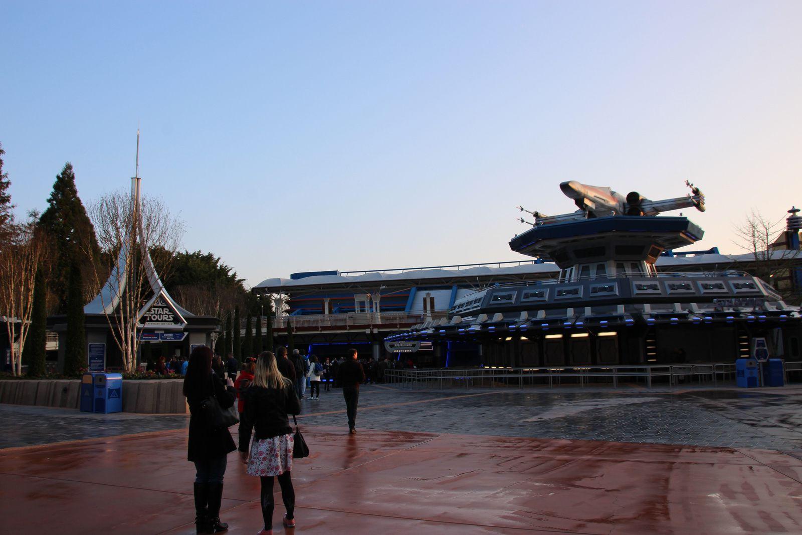L'univers Star Wars à Disneyland Paris