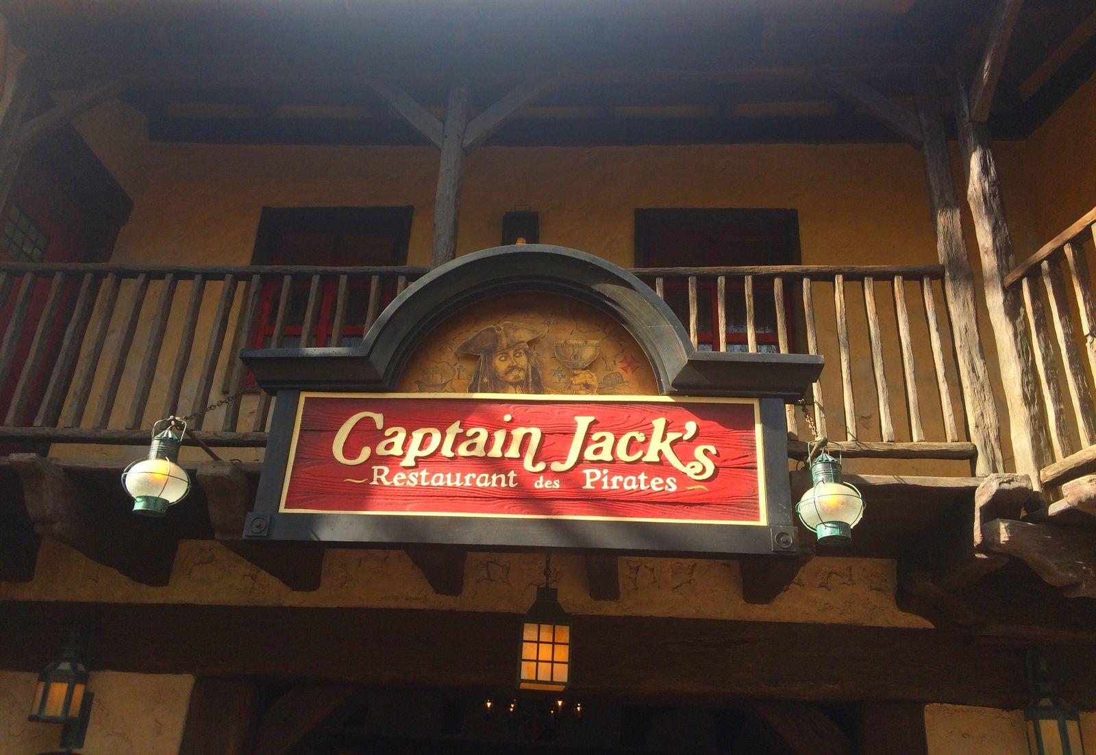 Le restaurant Captain Jack's à Disneyland Paris