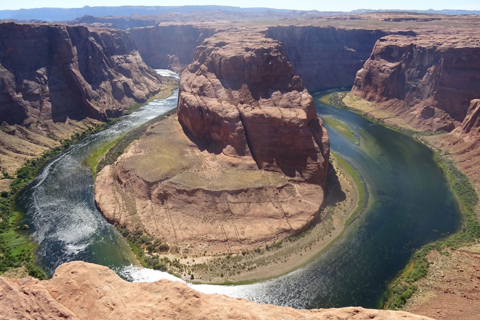 Horseshoe Bend et Lake Powell (Arizona)