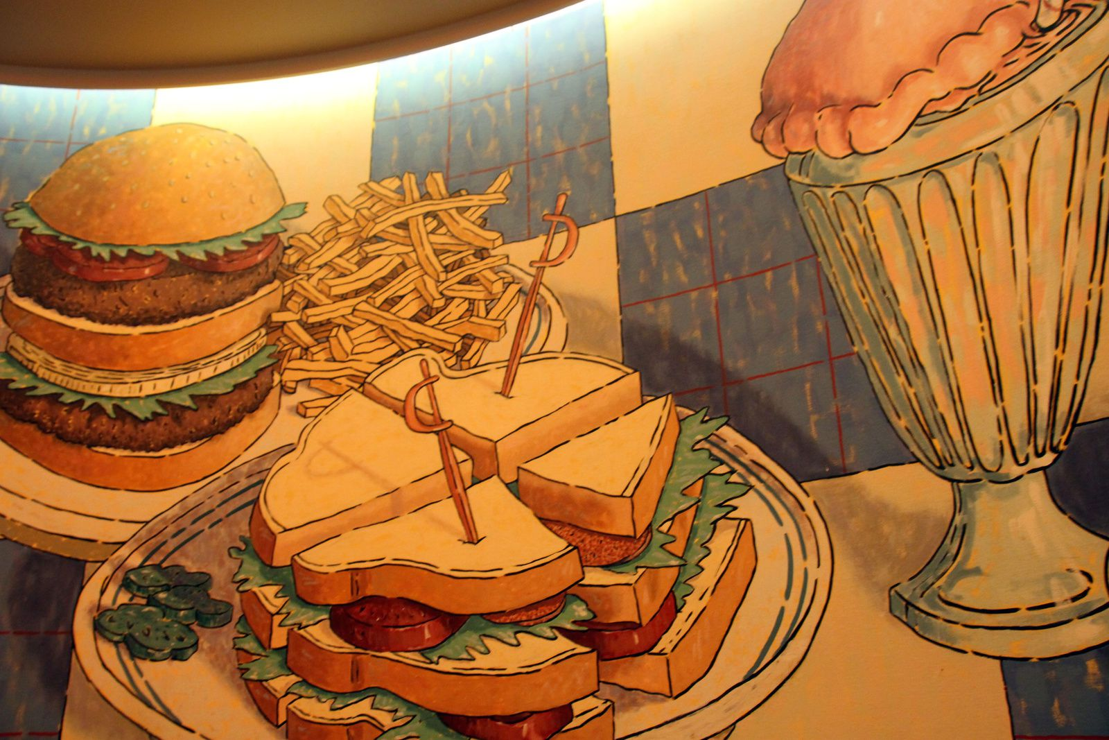 Le restaurant Parkside Diner à Disneyland Paris