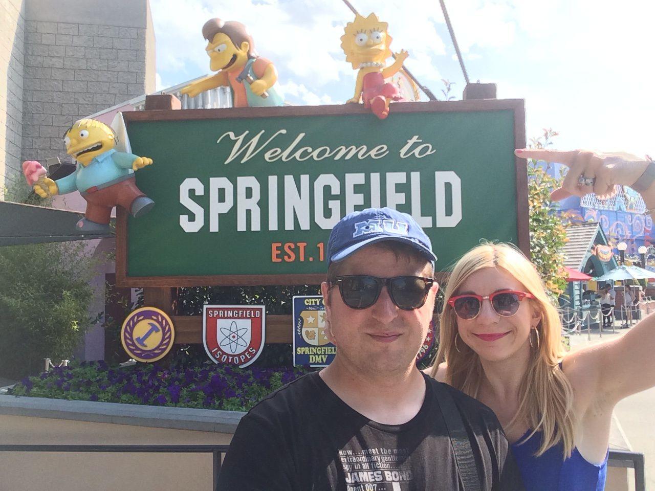 Universal Studios Hollywood : Springfield et l'univers des Simpson