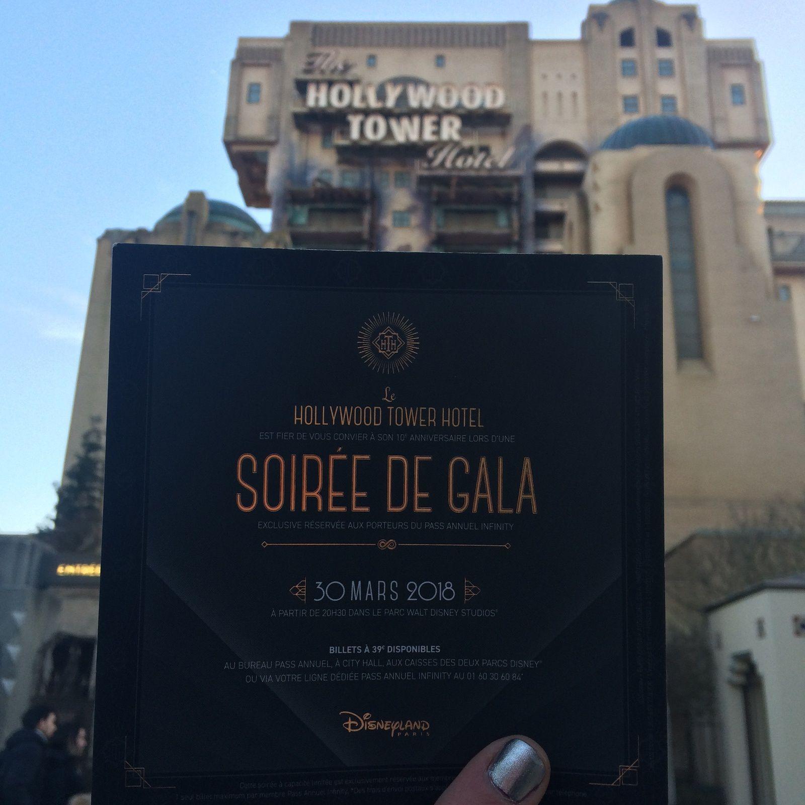 Soirée Hollywood Tower Hotel à Disneyland Paris